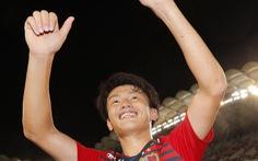 Video sinh viên Ueda ghi bàn giúp Kashima Antlers đá bại Yokohama