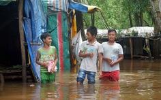 Người dân Phú Quốc chạy lũ xin về nhà để con đi học