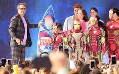 Avengers: Endgame, Spider-man 'thống trị' Teen Choice Awards
