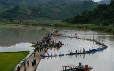 Hơn 500 người dầm mình trong nước vá đê cứu lúa vỡ òa niềm vui