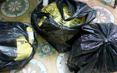 Bắt nhóm trộm quả bom to đem cưa bán thuốc nổ