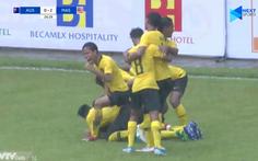 U18 Malaysia 'đè bẹp' Úc 3-0, tiễn U18 Thái Lan về nước