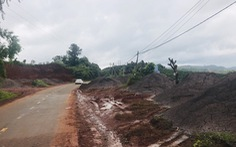 Đổ hàng ngàn mét khối xỉ than, tro bay từ Alumin Nhân Cơ ra môi trường