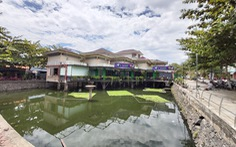 Xây nhà hàng trên hồ điều tiết, xử lý trách nhiệm quận Thanh Khê
