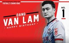 Video Văn Lâm bị các đồng đội đập trứng vào đầu trong ngày sinh nhật