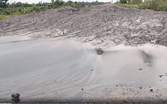 Chất thải từ Nhà máy alumin Nhân Cơ bị đổ ra môi trường