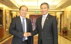Việt Nam, Singapore ủng hộ giải quyết vấn đề Biển Đông dựa trên UNCLOS