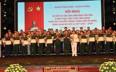 Hình ảnh 'Bộ đội Cụ Hồ' là biểu tượng cao đẹp, độc đáo riêng của quân đội Việt Nam