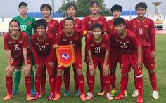 Tuyển nữ Việt Nam hạ Campuchia 10-0 ở trận mở màn Đông Nam Á 2019