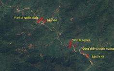 Thiệt hại khủng khiếp ở Sa Ná do gỗ lớn từ thượng nguồn đâm thẳng vào nhà dân