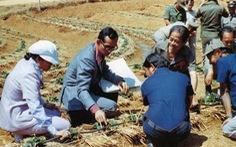 Nhìn lại hành trình thay trời làm mưa giúp nông dân của Nhà vua Thái
