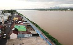 Nước sông Mekong dâng lên 60-70cm/ngày ở Thái Lan