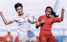 Hạ Myanmar 4-0, tuyển nữ VN vào bán kết Đông Nam Á với ngôi nhất bảng