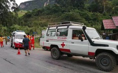 Xe chở du khách Trung Quốc gặp nạn ở Lào, ít nhất 13 người chết