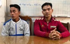 Khởi tố 4 người trong vụ dùng xăng pha mỡ tạt đoàn cưỡng chế