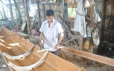 Lũ không về, làng ghe xuồng di sản Bà Đài đìu hiu