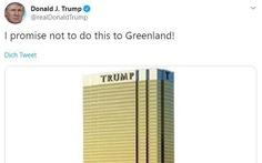 'Thương vụ Greenland' tan vỡ, ông Trump bỏ luôn chuyến thăm Đan Mạch