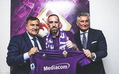 'Gã mặt sẹo' Ribery gia nhập Fiorentina