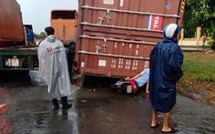 Liên tục rơi thùng container, Bộ GTVT chỉ đạo siết chặt quy định