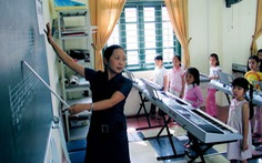 'Làm lơ' âm nhạc, mỹ thuật, nhiều trường mới chỉ làm tốt việc dạy chữ