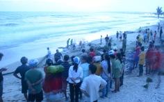 Lại xảy ra đuối nước, 4 du khách đang mất tích