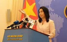 Việt Nam mong tình hình Hong Kong sớm ổn định