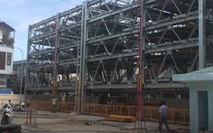 Video: Đà Nẵng lắp ráp bãi đậu xe hiện đại, kết cấu 6 tầng