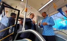 Lãnh đạo TP.HCM tìm hiểu dự án đê chống ngập và xe buýt nhanh Indonesia