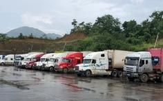 Trung Quốc cấp mẫu C/O mới, hàng trăm xe hàng ùn ứ ở cửa khẩu
