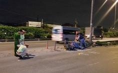 Chạy xe máy tông dải phân cách ở quận 12, thanh niên tử vong tại chỗ