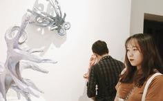 Que than từ vụ cháy rừng Hà Tĩnh, rác thải nhựa, sắt vụn... vào triển lãm