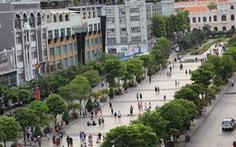 TP.HCM cấm xe cộ ra vô đường Nguyễn Huệ tối 30-8