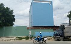 Nhiều công trình vi phạm nằm gần UBND phường
