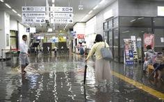 Đảo Kyushu của Nhật hứng mưa lớn lịch sử, sơ tán 240.000 dân