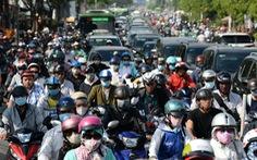 Xe máy và ôtô tại TP.HCM tăng lên 9 triệu chiếc, khách đi xe buýt giảm