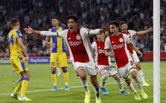 Ajax giành vé tham dự vòng bảng Champions League