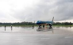Nhiều chuyến bay đi miền Trung bị hủy do ảnh hưởng bão số 4