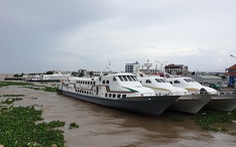 Tạm dừng toàn bộ tàu, phà ra đảo Phú Quốc do ảnh hưởng bão số 4