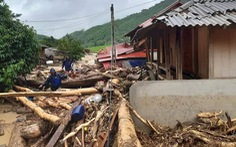 Một người chết, 13 người mất liên lạc do mưa bão số 3