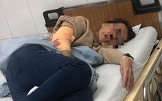 Nhóm thanh niên bịt mặt lao vào nhà chém một phụ nữ