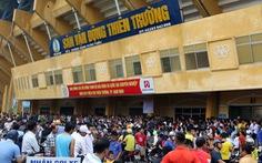 Sân Thiên Trường nóng như 'chảo lửa' trước trận Nam Định - Hoàng Anh Gia Lai
