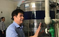 Phục dựng hệ thống cấp nước RO trong vụ tai biến chạy thận tại Hòa Bình