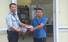 Đà Nẵng: Trả lại 30 triệu đồng cho du khách Lào đánh rơi