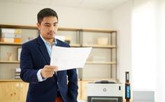 Máy in liên tục HP Laser Neverstop - đồng hành cùng Start-up