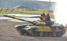 Đội tuyển xe tăng Việt Nam về nhất trong ngày đua tài thứ 2 ở Nga