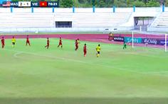 Phòng ngự quá tệ, U15 Việt Nam thua Malaysia ở bán kết Giải U15 Đông Nam Á