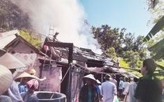 Xóm trưởng ở Nghệ An bất an vì bị dọa giết, đốt nhà chứa rơm