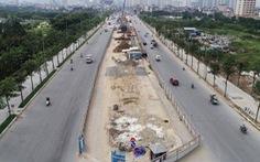 Hà Nội: Từ 10/8 sẽ phân luồng giao thông đường Phạm Văn Đồng