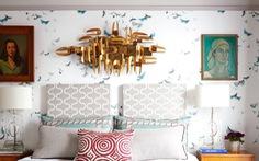 10 mẫu giấy dán tường ấn tượng làm tăng nét cá tính cho phòng ngủ