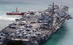 Tàu sân bay Mỹ USS Ronald Reagan đến Philippines sau khi tuần tra Biển Đông